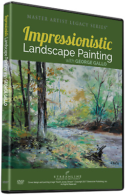 NEW George Gallo: Impressionistic Landscape Painting