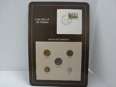 Coin Sets of All Nations Ethiopia