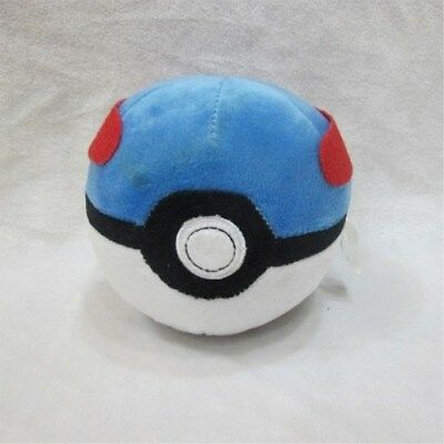 Elves Ball Pokemon Ball Pikachu Pokeball Keyring Plush Toy Key Bag Pendant