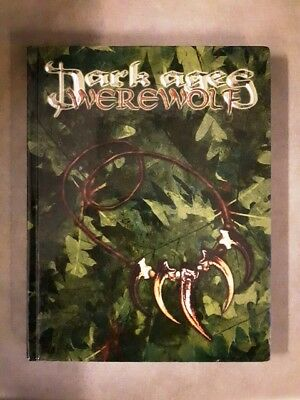 Dark Ages Werewolf (Hardcover 2003) Out of Print RARE VERY GOOD CONDITION!