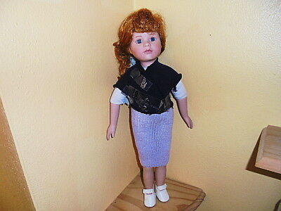 Haunted Porcelain Doll (Fara-Mano ) About 17 1/2 Tall Used In Good Condition