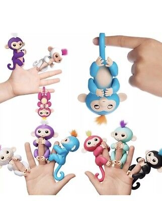 Fingerlings Electronic Interactive Finger Toys Baby Monkey Pets