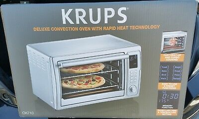 KRUPS  Digital Convection Toaster Oven OK710 Brand New