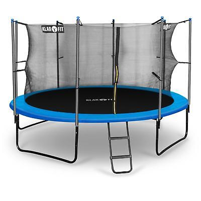 KLARFIT ROCKETBOY 366cm GARDEN TRAMPOLINE SURROUND SAFETY NET SPORTS TRAINING