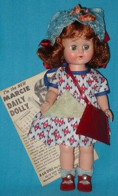 Circa 1950s! AO! Vintage MARCIE Ginny-type Doll with Box
