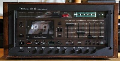Nakamichi 1000 ZXL full serviced + restored, mint condition !