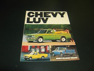 1977 Chevy LUV Full color sales brochure