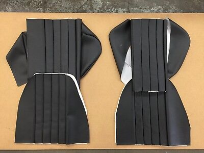 Porsche 911 912 Coupe Or Targa Rear Seat Covers - German Vinyl  1965 To 1971
