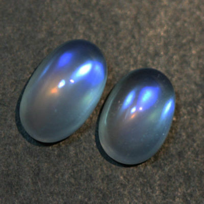 3.16cts ULTRA RARE NATURAL LUSTER RAINBOW BLUE MOONSTONE GEMSTONE