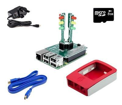PiTraffic Educational Traffic Kit with Raspberry Pi 3 for children 11-16 years