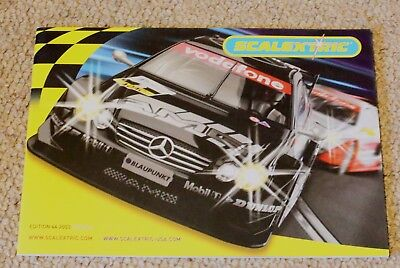 Scalextric 2003 edition 44 catalogue in Good Condition