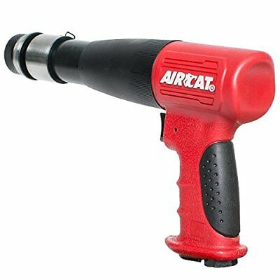AIRCAT 5200-A-T Stroke Low Vibration Composite Air Hammer Long Red & Black