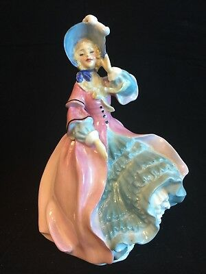 "1st Quality Royal Doulton 'Spring Morning' Figurine HN1922 Issued 1940 7.5"" Tall"