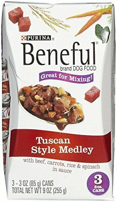 PURINA 178338 Tuscan Style Medley with Beef Food for Pets
