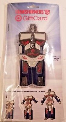 Target 2014 Transformers Everchanging Collectible Gift Card NEW & SEALED