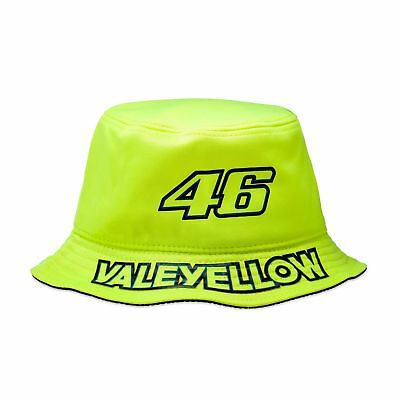 VR46 Valentino Rossi MotogP VALEYELLOW The Doctor Sun Bucket Hat - Yellow L/XL