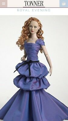 "Tonner Tyler Wentworth Outfit 16"" 2007 *ROYAL EVENING * NRFB LE 1000 Perfect"