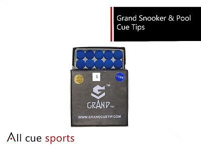 Grand Snooker & Pool Cue Tips - SOFT - 10MM