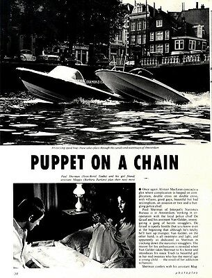 Sven-bertil Taube & Barbara Perkins In Puppet On A Chain Movie Review & Picture(