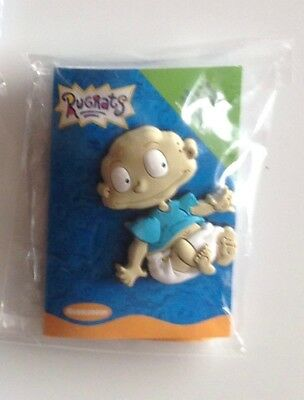 "Nickelodeon ""RUGRATS"" - ""Tommy Pickles"". Lapel Pin Rubber Badge."