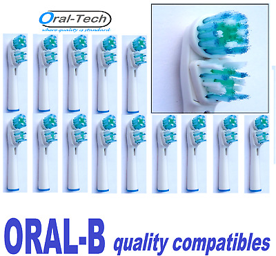 Oral-B quality compatible DUAL CLEAN replacement electric Brush Heads