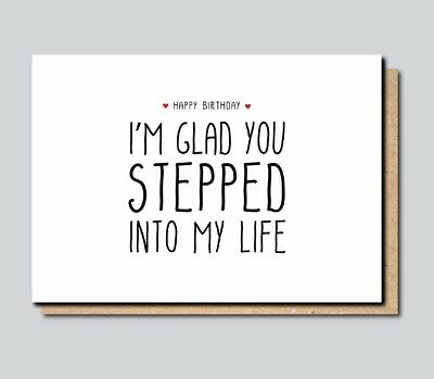 Funny greeting card for stepdad stepfather birthday fathers day funny greeting card for stepdad stepfather birthday fathers day comedy joke m4hsunfo