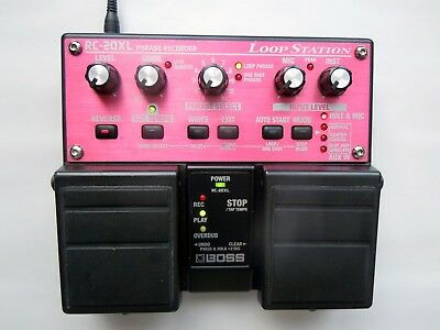 Boss RC-20 XL - Twin Pedal Loop Station - Phrase Recorder - Looper