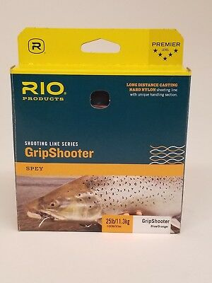 Rio GripShooter 25lb 100ft Spey Line - New
