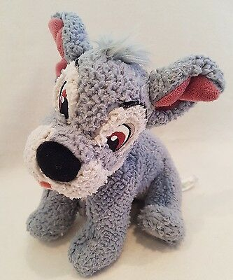 Disney Lady And The Tramp Dog Tramp Soft Toy Plush  8""