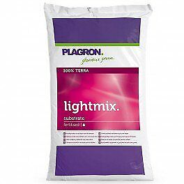 Terreau Plagron Bio Light Mix 25 litres