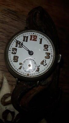 ww1 TRENCH WATCH + STRAP