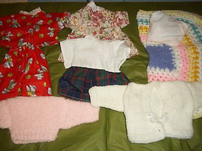 Dolls clothes to fit Tiny Tears (green set)