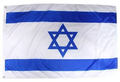 Israel Country Polyester Flag 3' x 5' USA SELLER