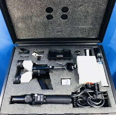 Zeiss HSO 10 Hand-Held Slit Lamp and Ophthalmoscope Illuminator H