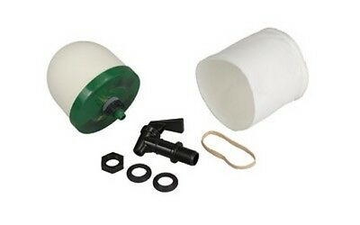 PS Products PSGEGK4X4 Water Filter Kit 4-inch Filter Sock & Spigot