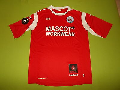 Shirt SILKEBORG IF (XXL) UMBRO 2011/2012 PERFECT !!! Trikot home DENMARK