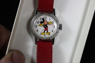 Vintage Ingersoll Mickey Mouse Watch     Runs