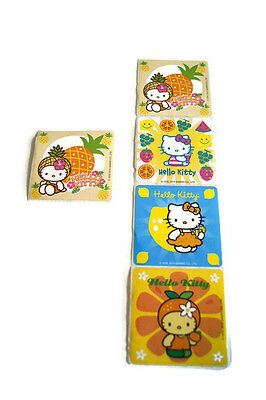2010 Hello Kitty Stickers Collectible Sratch-and-Sniff Fruits Sanrio