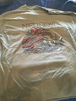 Neurosis Rare Times Of Grace Tshirt army green ONE OF A KIND