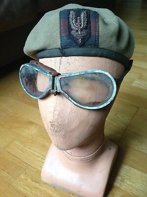 Rare Ww2 Original Sas Special Forces Soldiers Beret With Badge