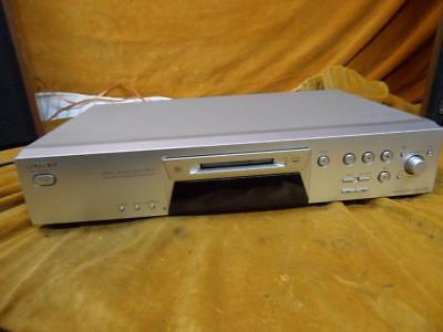 SONY mds-je480 minidisc recorder with remote