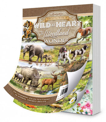 Hunkydory - The Little Book of Wild at Heart & Woodland Wonder - LBK195