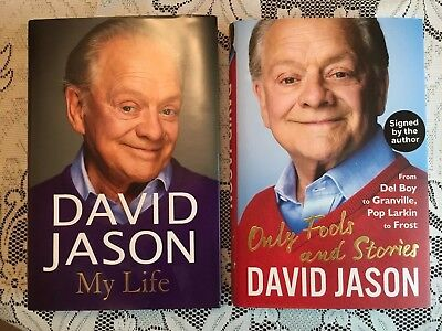 Signed David Jason Books Only Fools And Horses