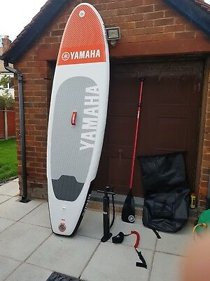 official 10ft  yamaha sup inflatable  paddle board