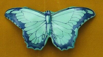 Rare Royal Doulton Butterfly Figure Pottery Vintage Retro Antque Green