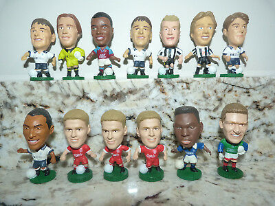 13 Assorted 1995 Corinthians Prostar Big Head Football Figures Amokachi Crossley