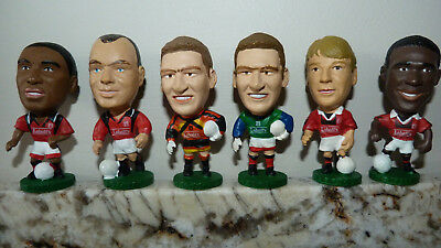 6 Nottingham Forest 1995 Corinthians Prostar Big Head Football Figures