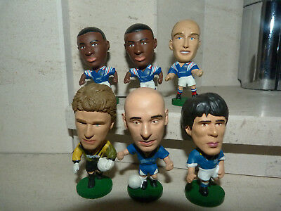 3 France, 1 Italy, & 2 Chelsea 1995 Corinthians Prostar Big Head Figure