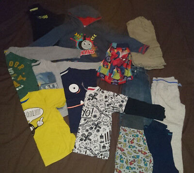 Boys Mixed Bundle Of Clothes 5-6 Years All Vgc