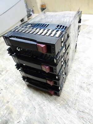Lot of 7 - HP 2.5'' Drive Caddy Trays - 371593-001 Rev. H |